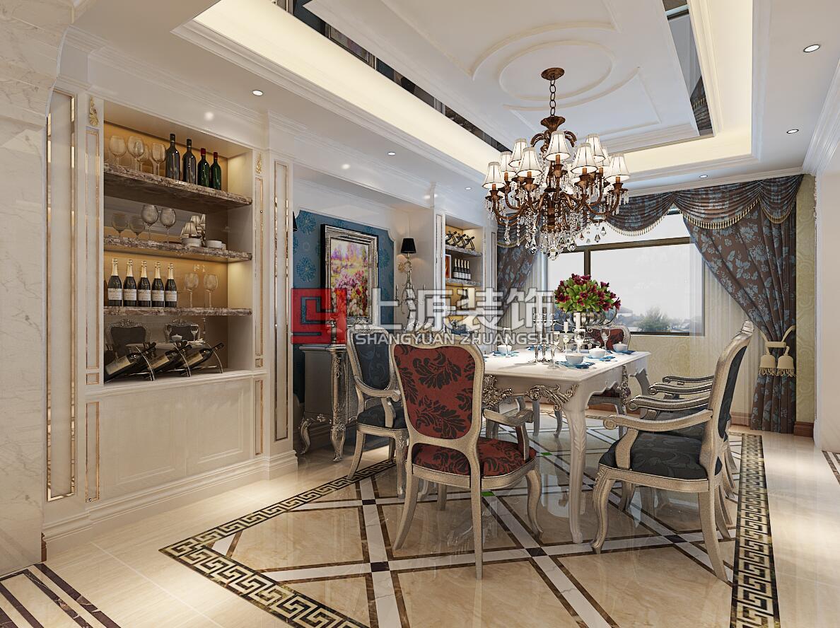 莱西别墅装修 300㎡ 新古典风格 青岛别墅设计团队