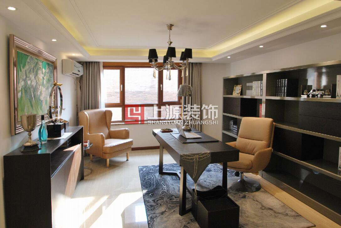 青岛装修设计案例 310㎡ 港式风格 青岛家庭装修设计团队