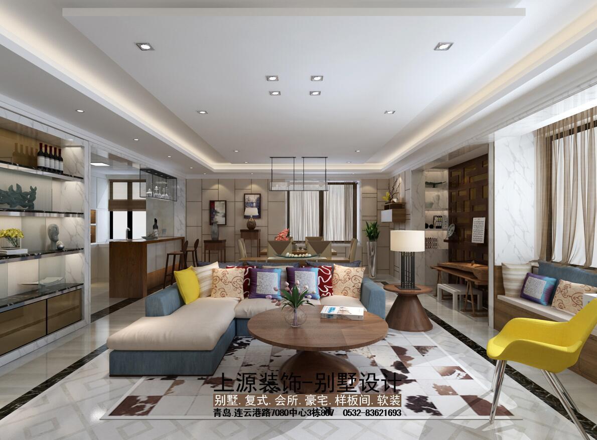 青岛复式装修   青岛别墅设计团队