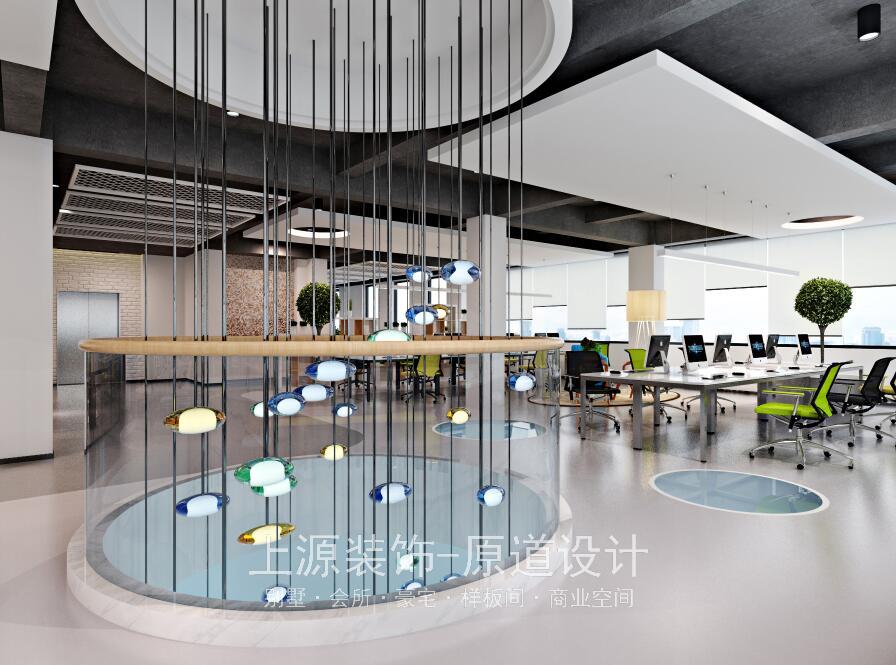 青岛工厂总部装修 5000㎡ 现代风格 上源设计团队