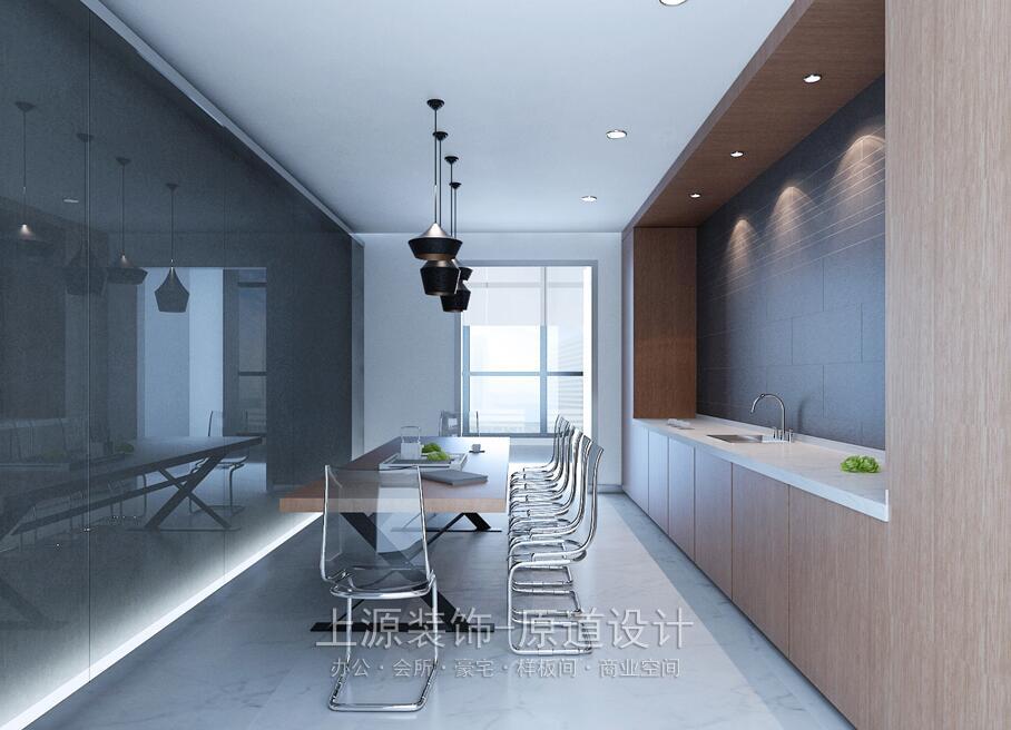 黄岛青岛办公室设计 1800㎡  上源装饰设计