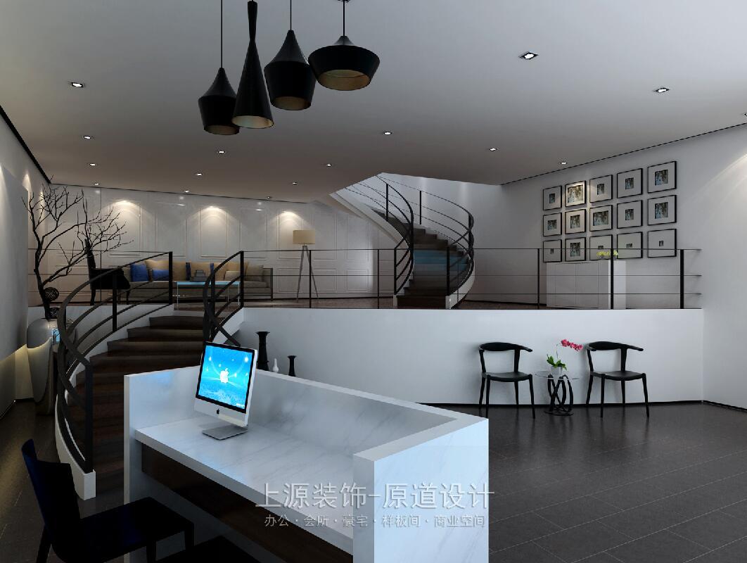 青岛办公室装修设计 1500㎡ 现代风格 上源装饰设计