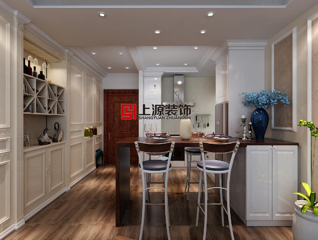 青岛装修设计方案 170㎡ 美式风格 青岛别墅设计团队