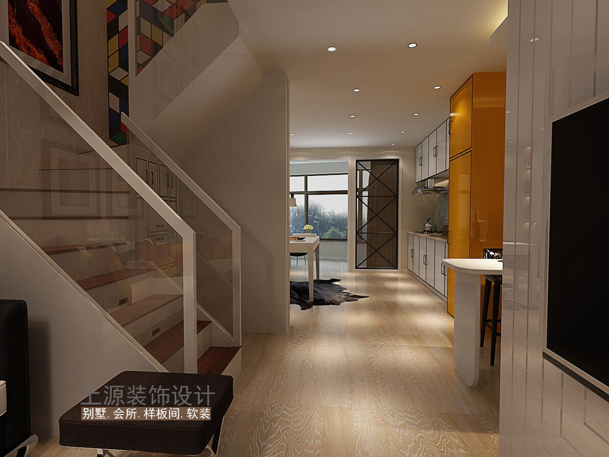 青岛别墅样板间 220㎡ 现代风格 青岛别墅设计团队