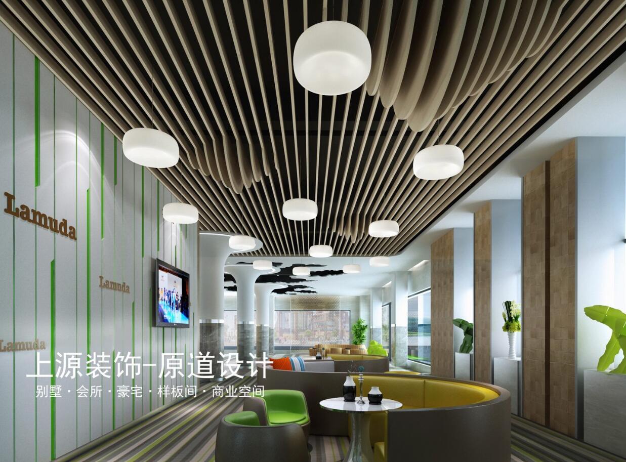 青岛写字楼设计 5000㎡ 现代风格 上源装饰设计