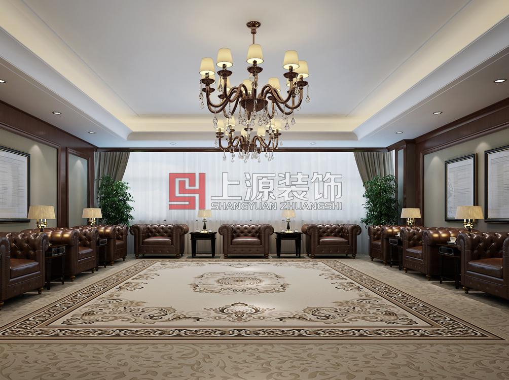 青岛办公楼装修设计 8000㎡  上源装饰设计