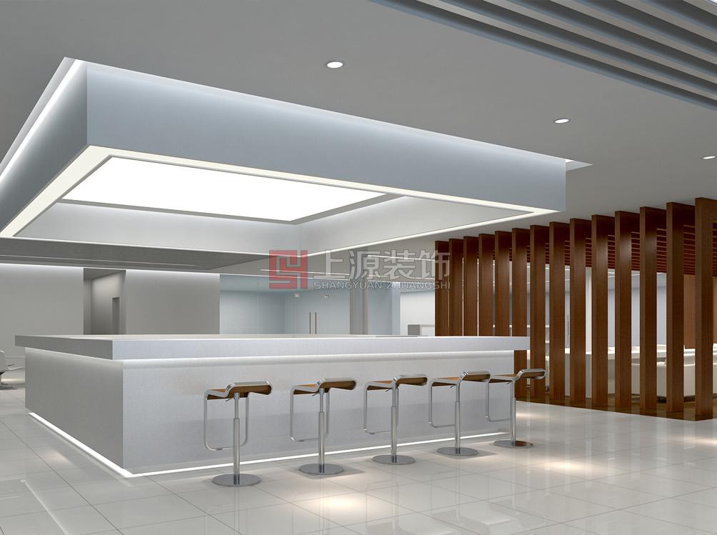忻州办公室会所_忻州宝马展厅_青岛上源装饰设计有限