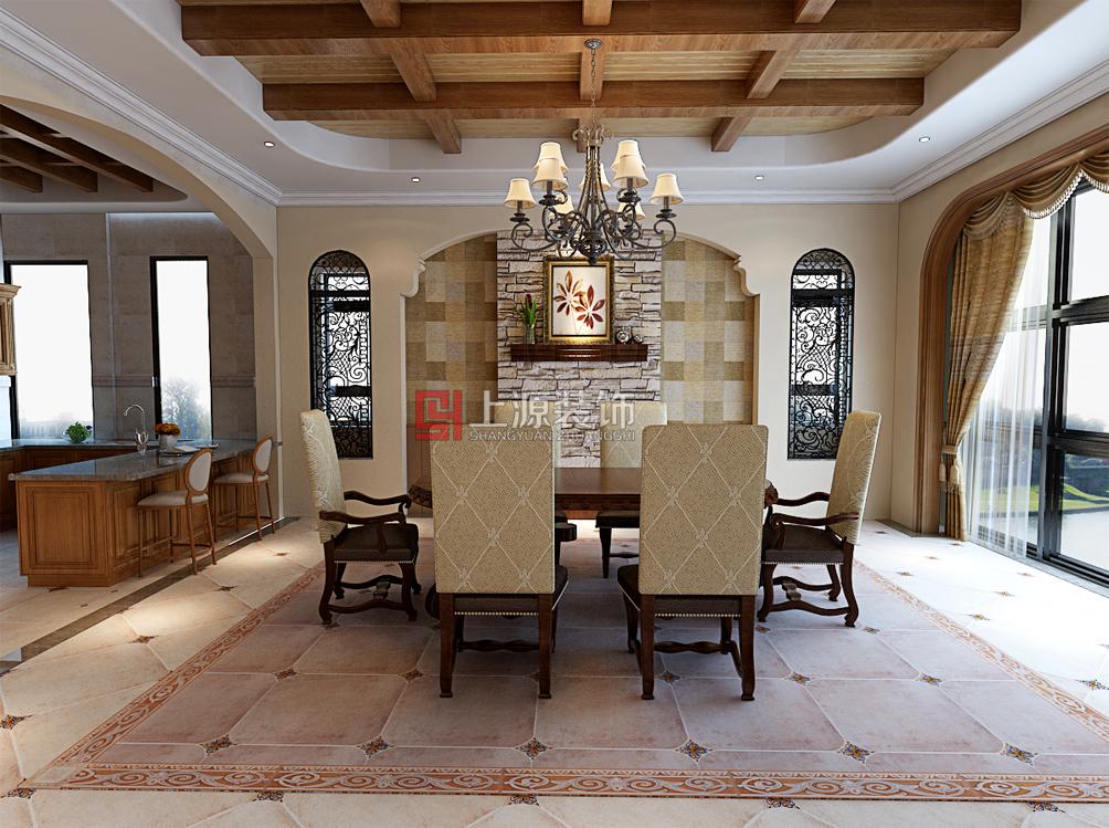 独栋别墅设计 500㎡ 美式风格 青岛别墅设计