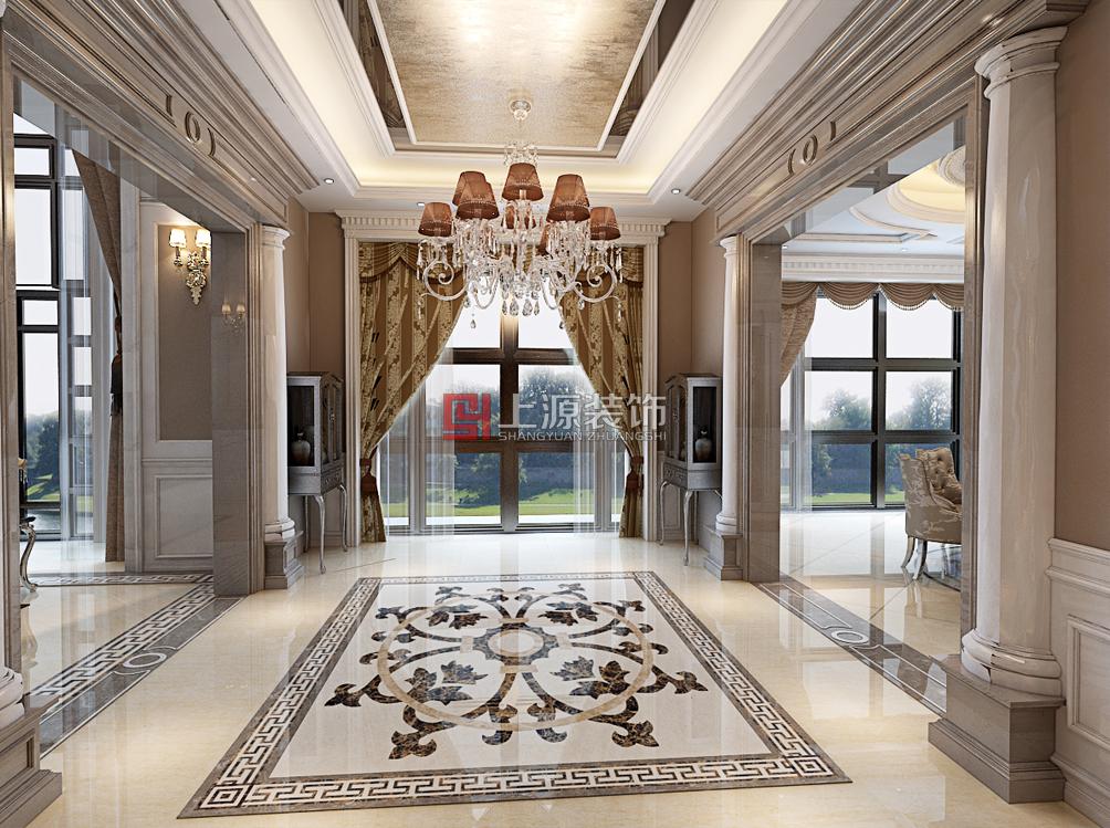 黄岛别墅设计 380㎡  青岛别墅设计
