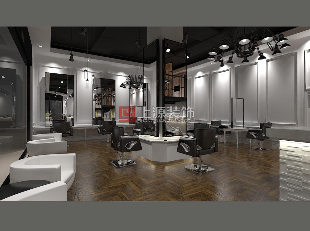 青岛会所装修设计 400平 现代 上源装饰设计团队