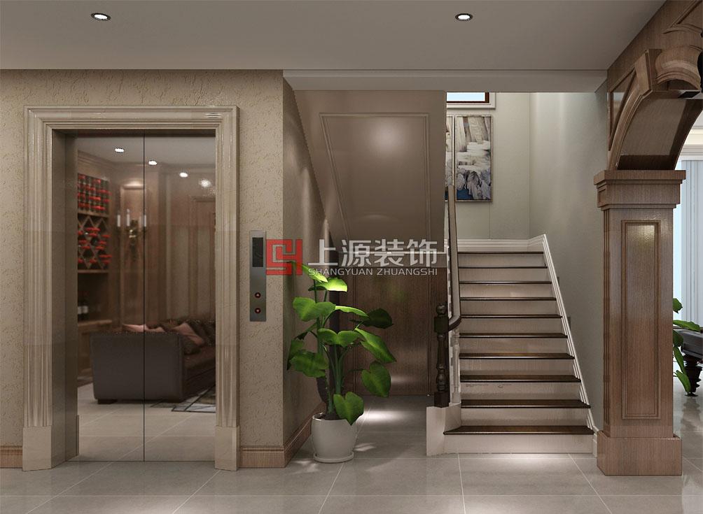 青岛别墅装修设计  简欧风格装修设计 青岛装修公司