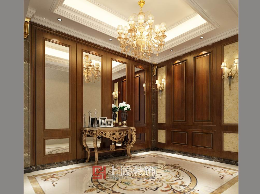 青岛装修设计公司  新古典装修风格 青岛装修设计师