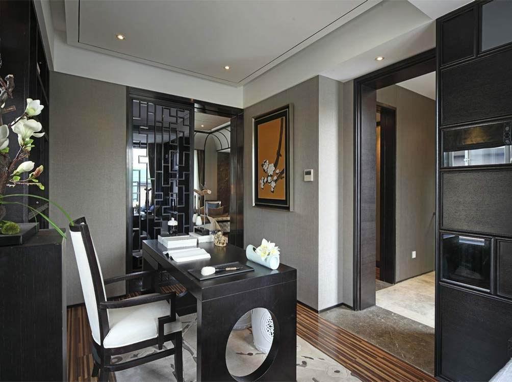 青岛软装配饰 400平方 中式风格 青岛别墅装修设计师