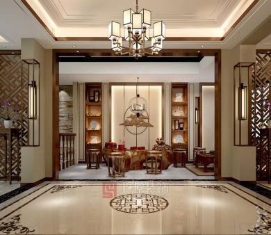 寿光青岛中式别墅设计