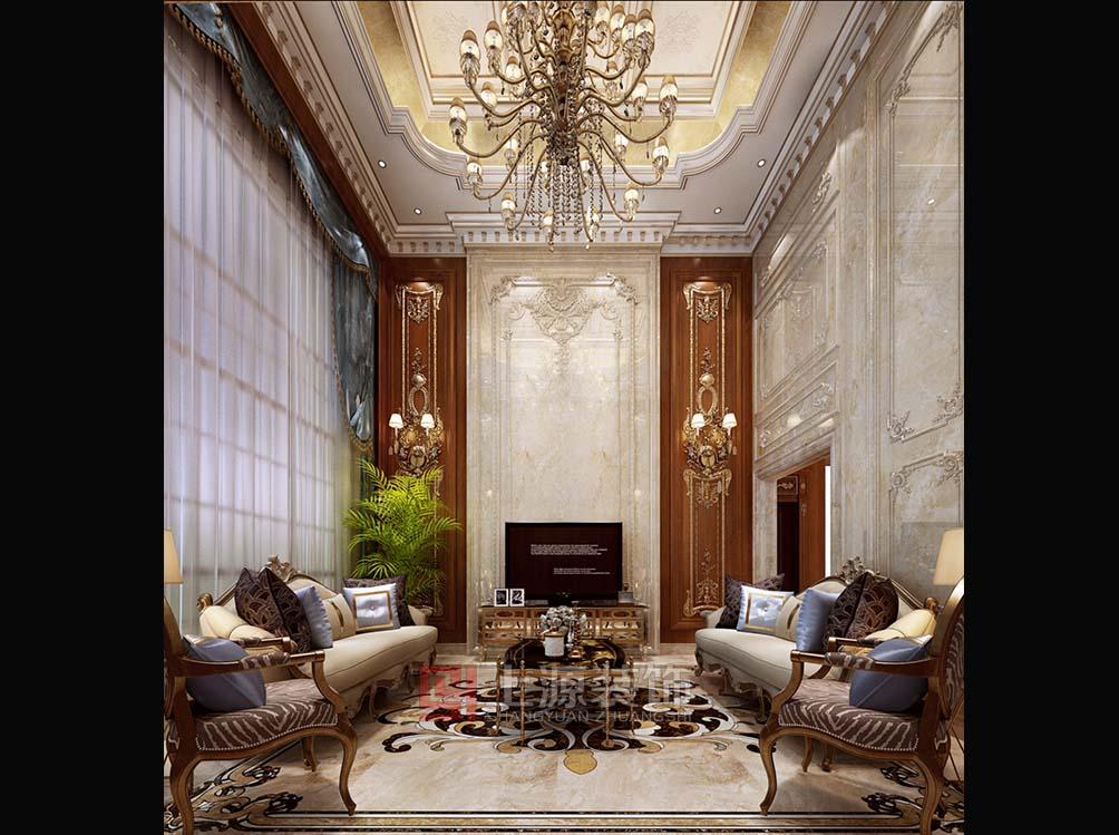 法式别墅装修设计   青岛别墅装修设计