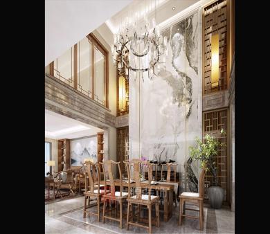 日照新中式别墅设计案例