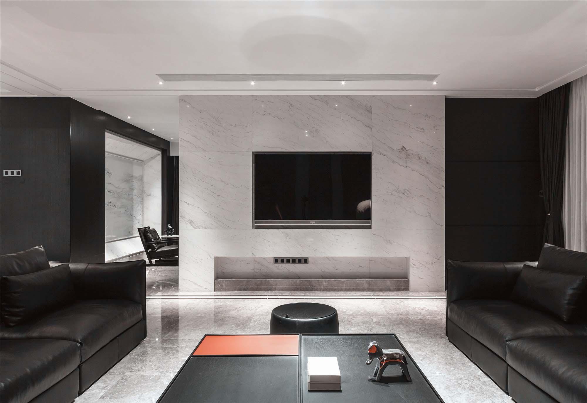 别墅装修设计 380㎡  青岛别墅设计