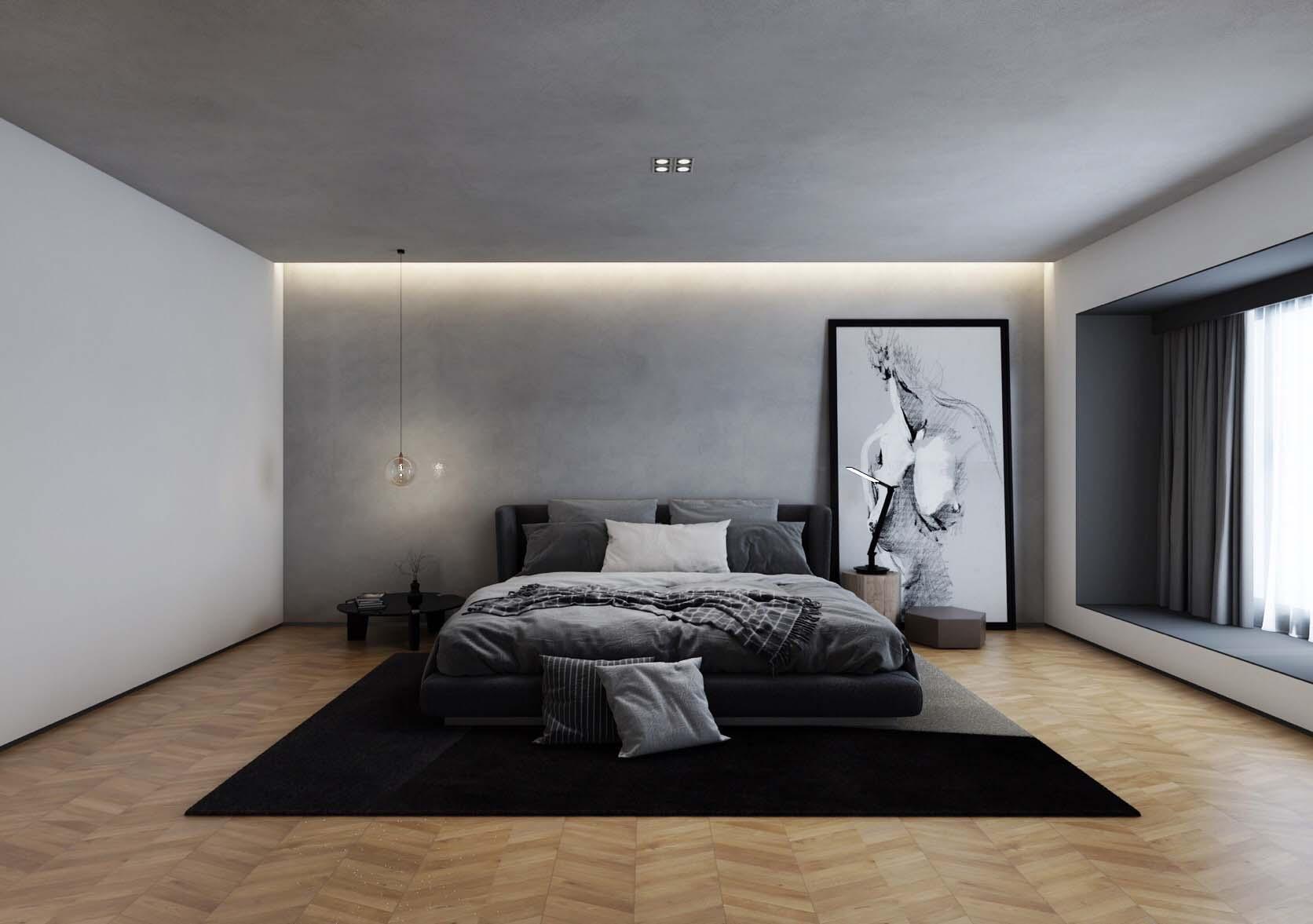 青岛样板间设计  美式风格 青岛装修设计公司