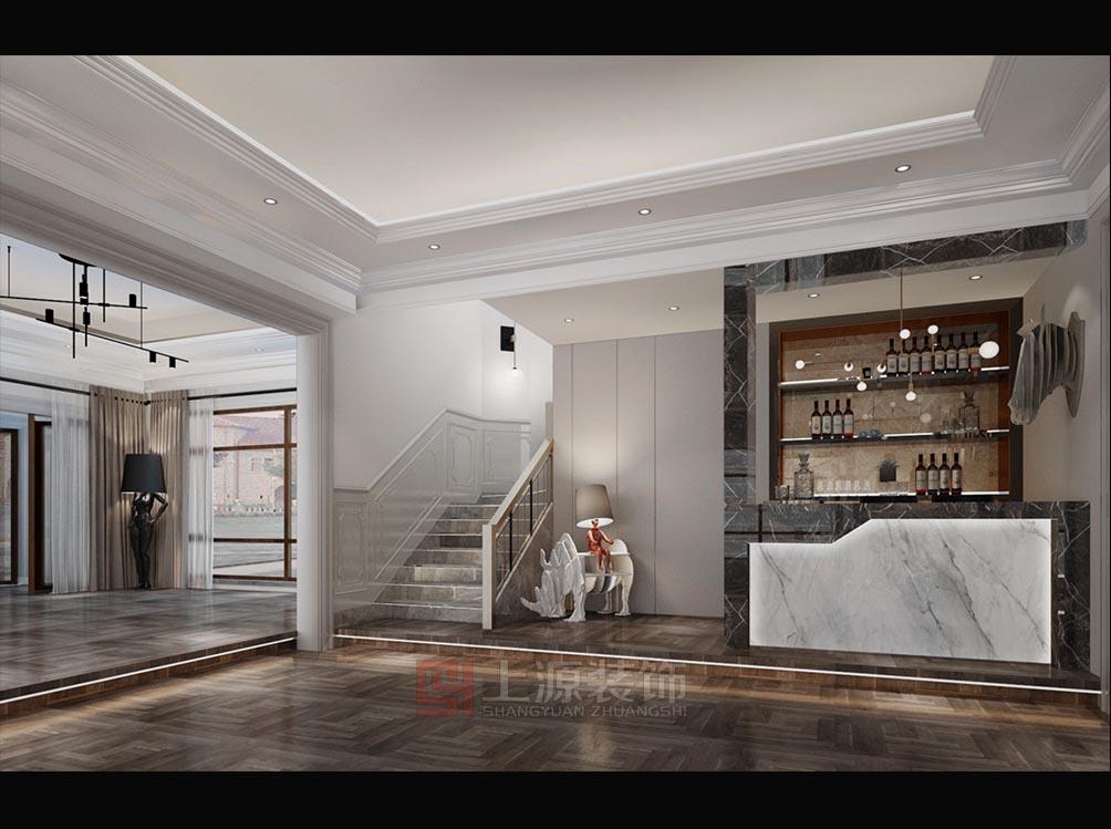青岛别墅会所设计   青岛会所装修设计