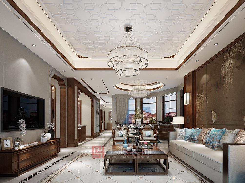 新中式联排别墅设计