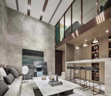 青岛别墅轻奢风格设计