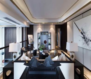 黄岛新中式装修设计