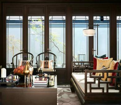 黄岛青岛中式风格装修设计案例