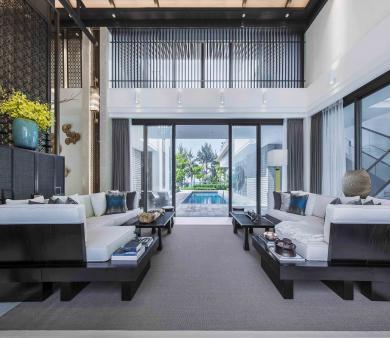 黄岛新中式装修设计风格