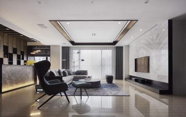 青岛现代风格装修设计