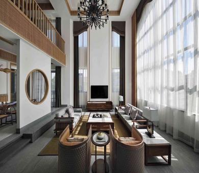 黄岛青岛中式装修设计公司