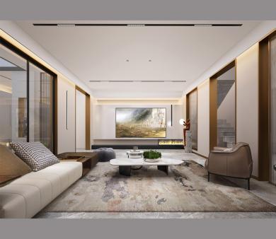 黄岛青岛别墅装修设计最新案例
