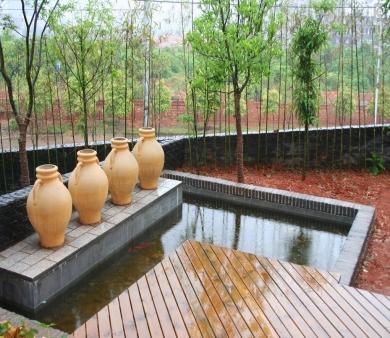 青岛别墅设计哪家好之水池的风水