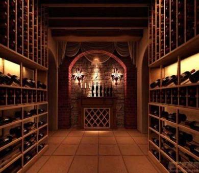 海阳别墅装修设计哪家好之酒窖装修设计分享