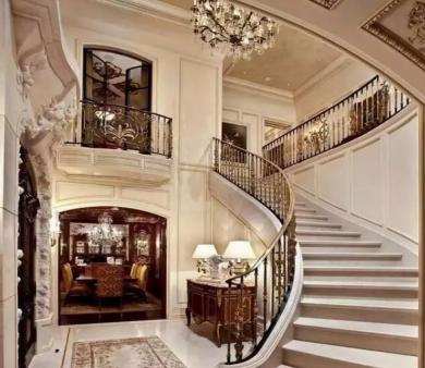 诸城别墅装修哪家好之别墅楼梯设计分享