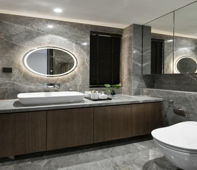 青岛别墅设计 卫浴中富有情趣的四款配件