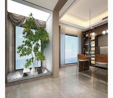青岛别墅装修设计施工釉面砖
